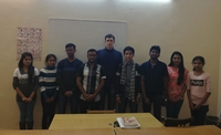 First batch of Sri Lankan students in skolensk